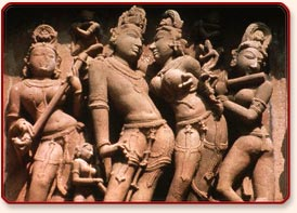 Sculptures, Khajuraho
